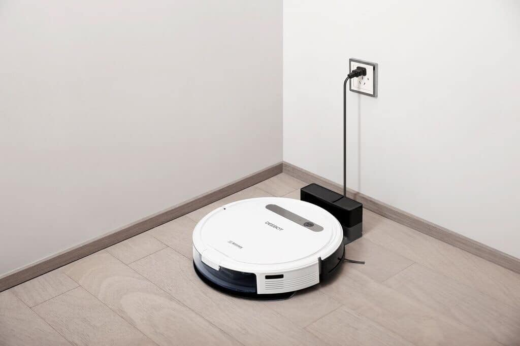 sua may robot hut bui tai nha